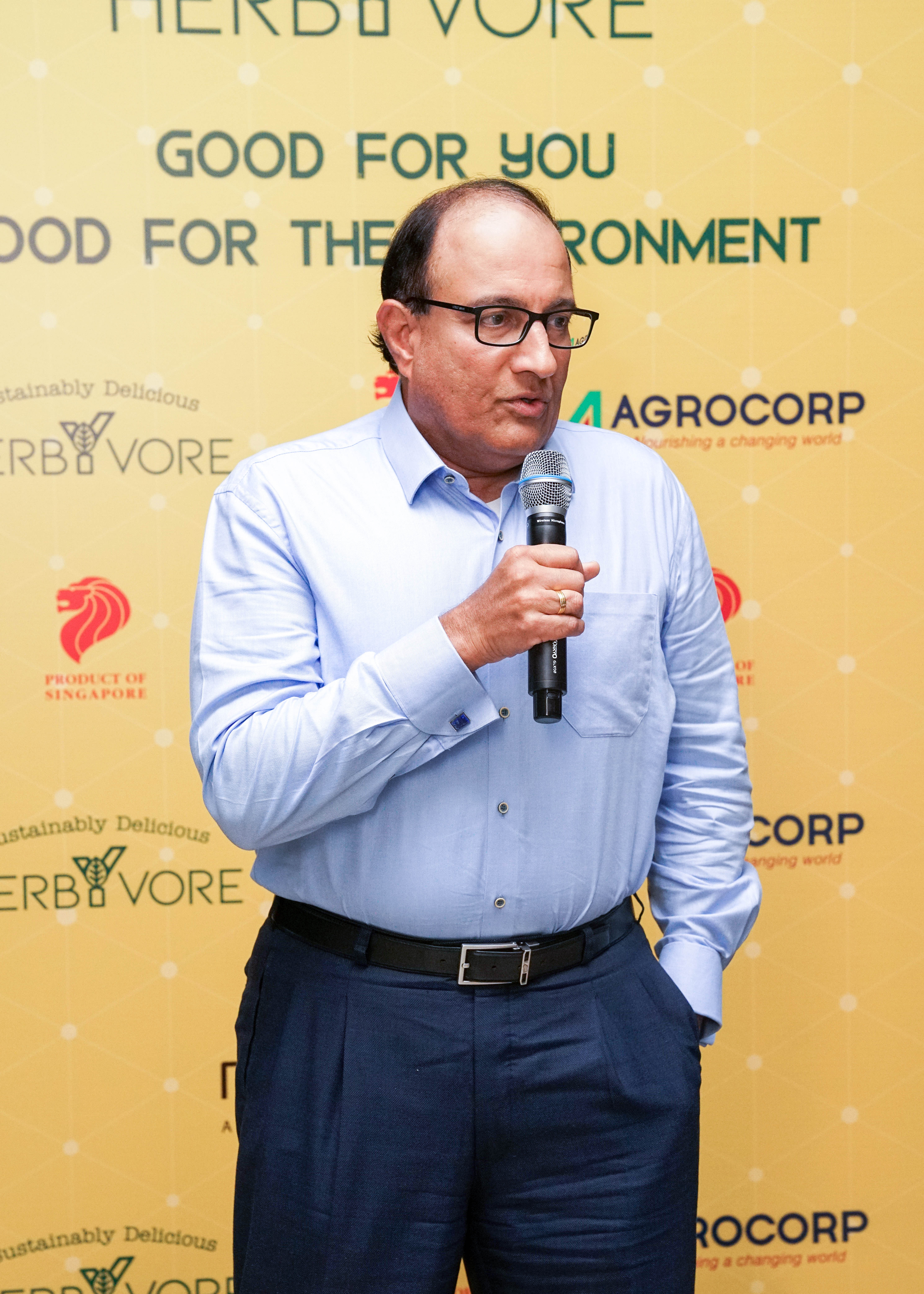 the Minister of Communication and Information, Mr S Iswaran was present as the special guest. Photo courtesy: Agrocorp