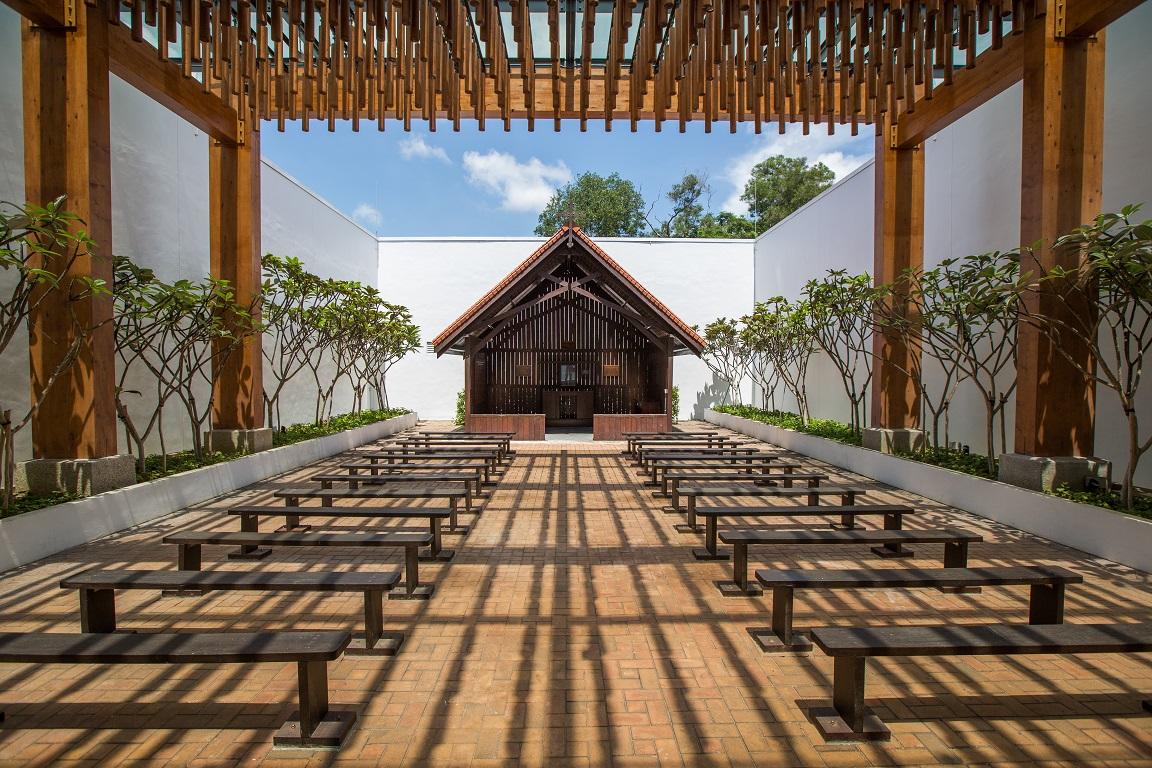 The revamped Changi Chapel. Photo courtesy: CCM