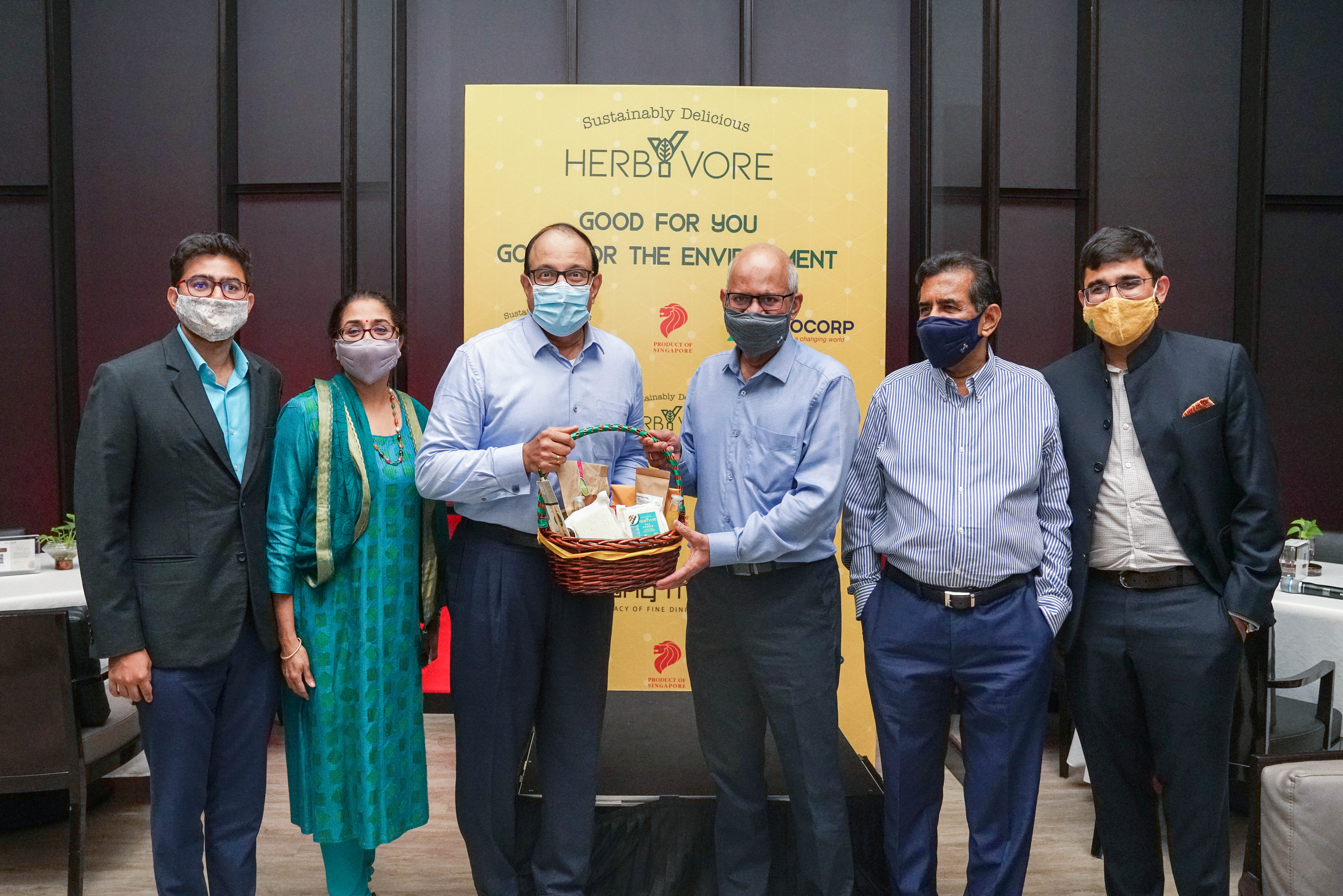 Agrocorp launched their new plant-based food brand HerbYvore that recently released its first product - the pea paneer. Photo courtesy: Agrocorp