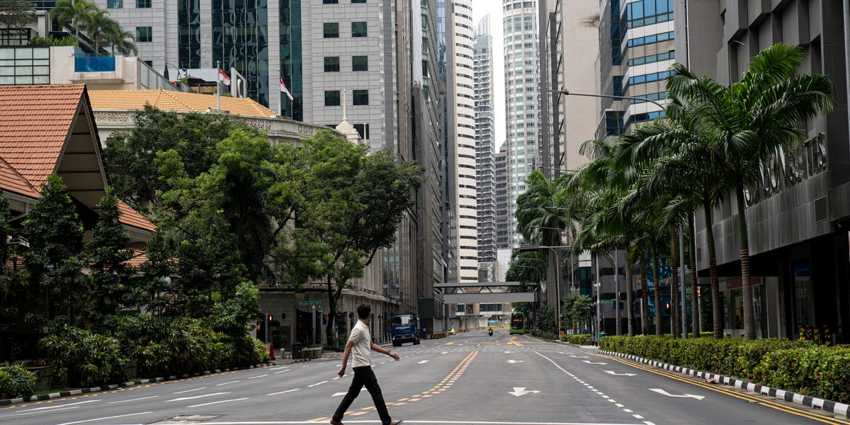 The return to near-lockdown in Singapore puts in doubt high-profile global initiatives meant to showcase its control of the virus.