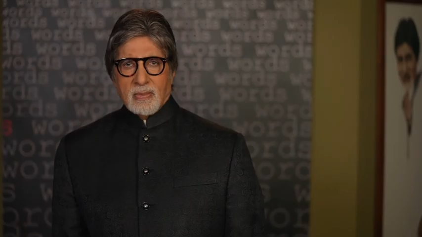 Bollywood superstar Amitabh Bachchan opened and closed the 'I Breathe for India' virtual fundraiser. Photo courtesy: TiE