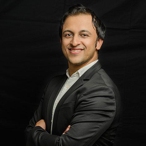Prantik Mazumdar, an Indian-origin entrepreneur and angel investor in Singapore