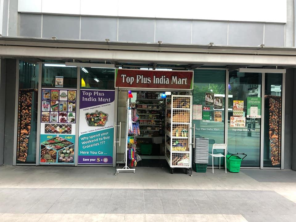 Top Plus India Mart. Photo courtesy: Facebook/SG India Mart