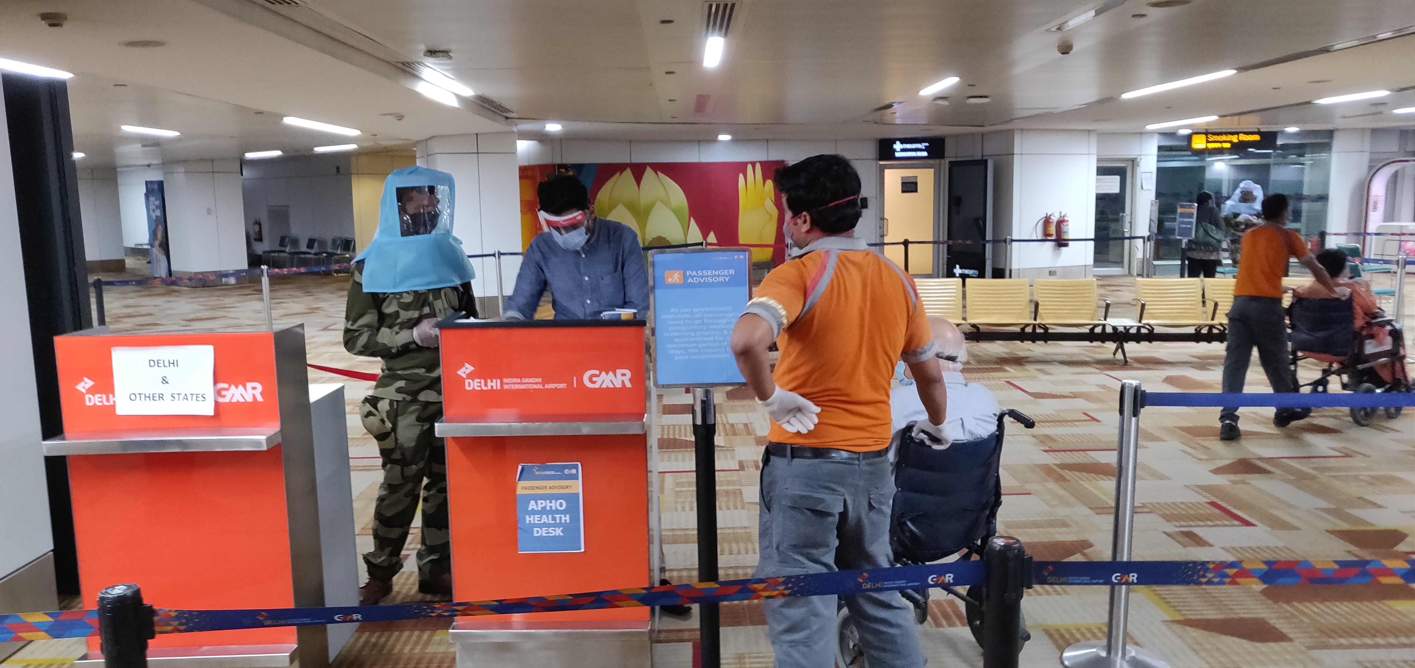 On average, 180 Indians are flying back daily to India as part of the Vande Bharat Mission flights, with about 25 arrivals to Singapore each day
