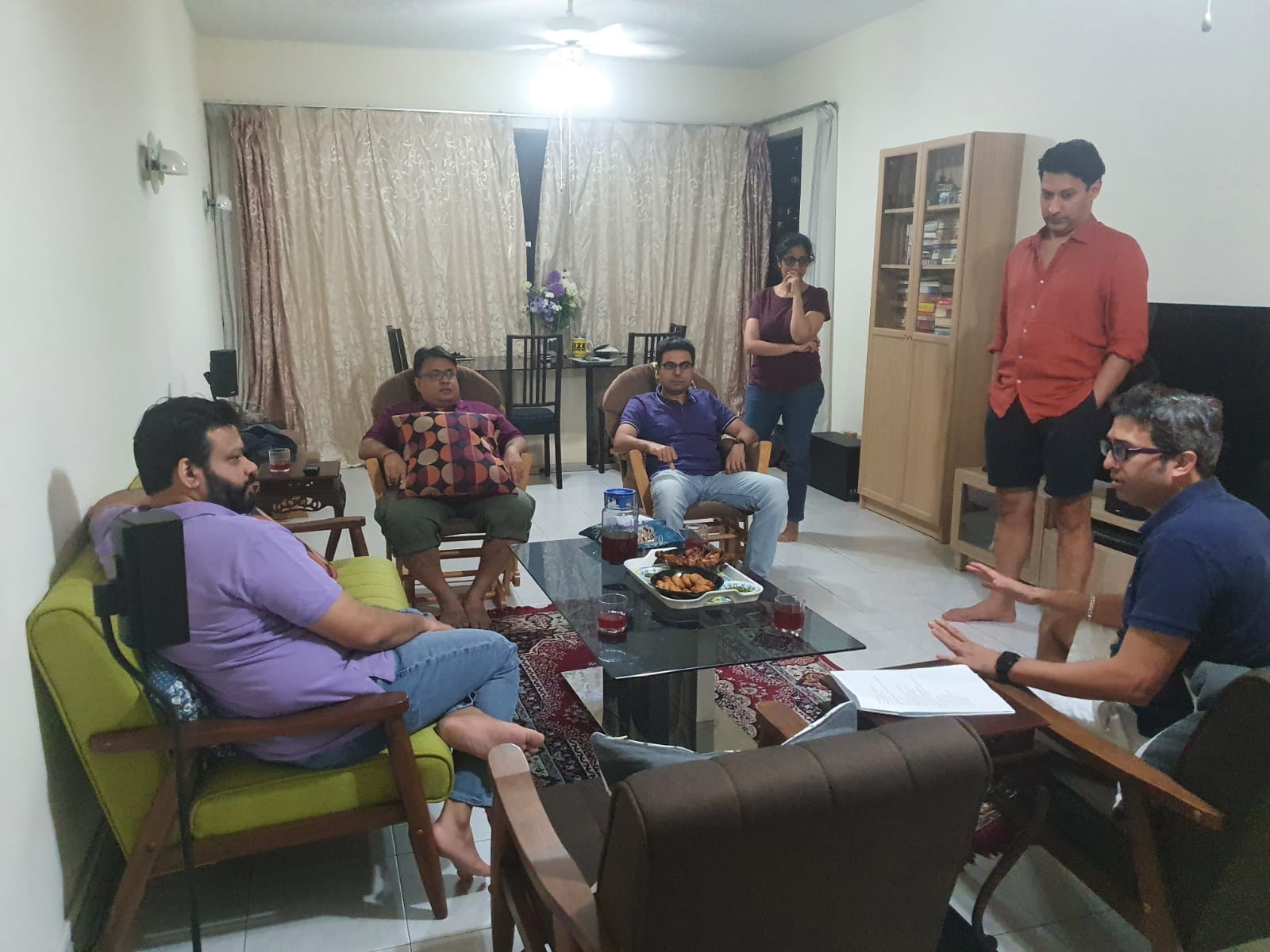 The cast and crew of DOST during rehearsals. Photo courtesy: BDNP Jump