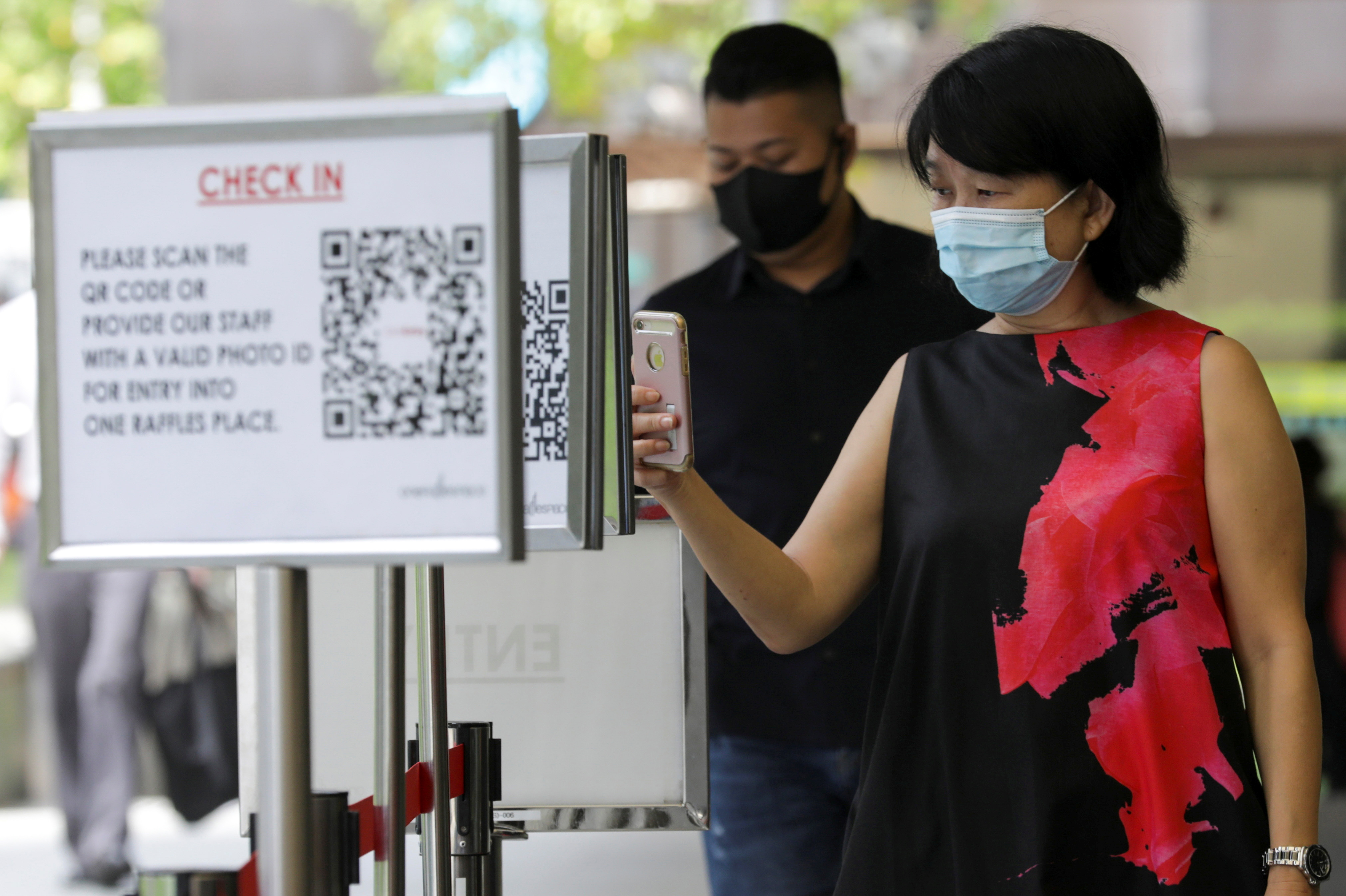 In total, there are 9 new cases of COVID-19 infection in Singapore today, the lowest daily number of new cases in almost three months. Photo courtesy: Reuters