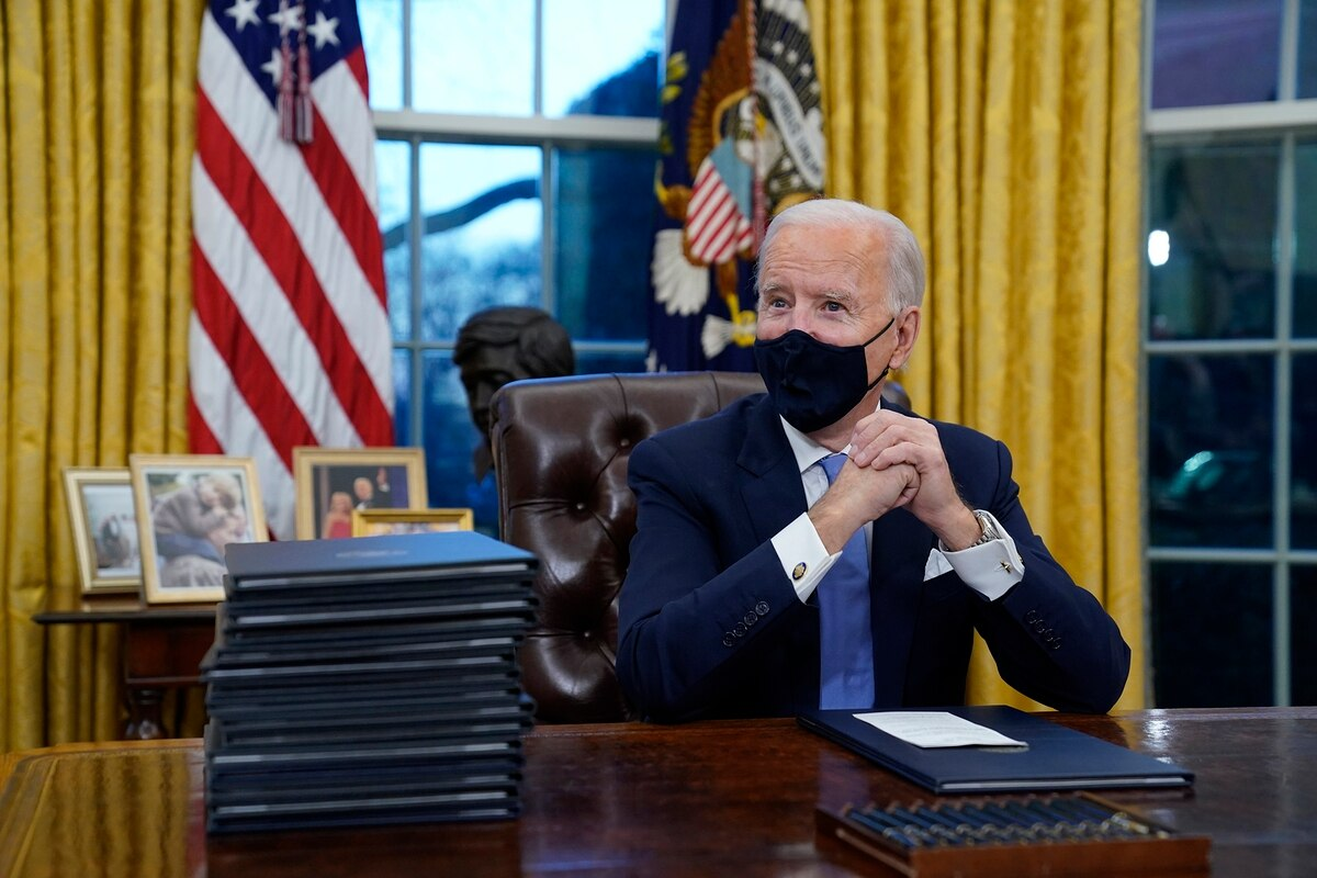 Biden said the US will share the vaccine to many countries to fight the pandemic through the UN-backed COVAX global vaccine sharing programme