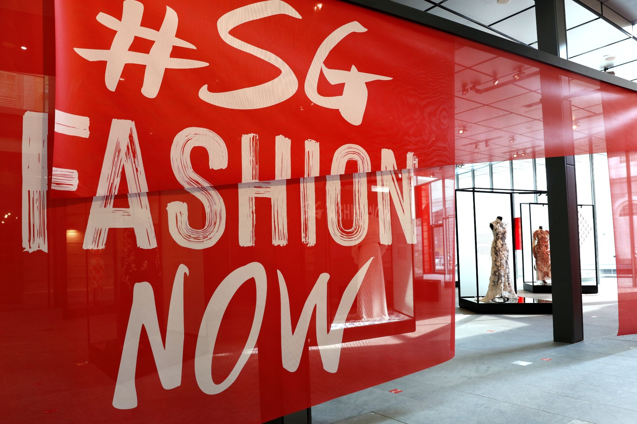 #SGFASHIONNOW will also be held in 2022. Photo courtesy: Asian Civilisations Museum