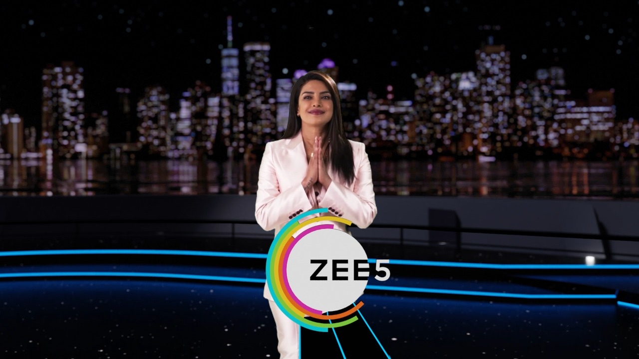Priyanka also joined Archana in unveiling ZEE5's upcoming content slate