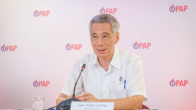 Lee delivered a major speech to Singaporeans in Parliament in September