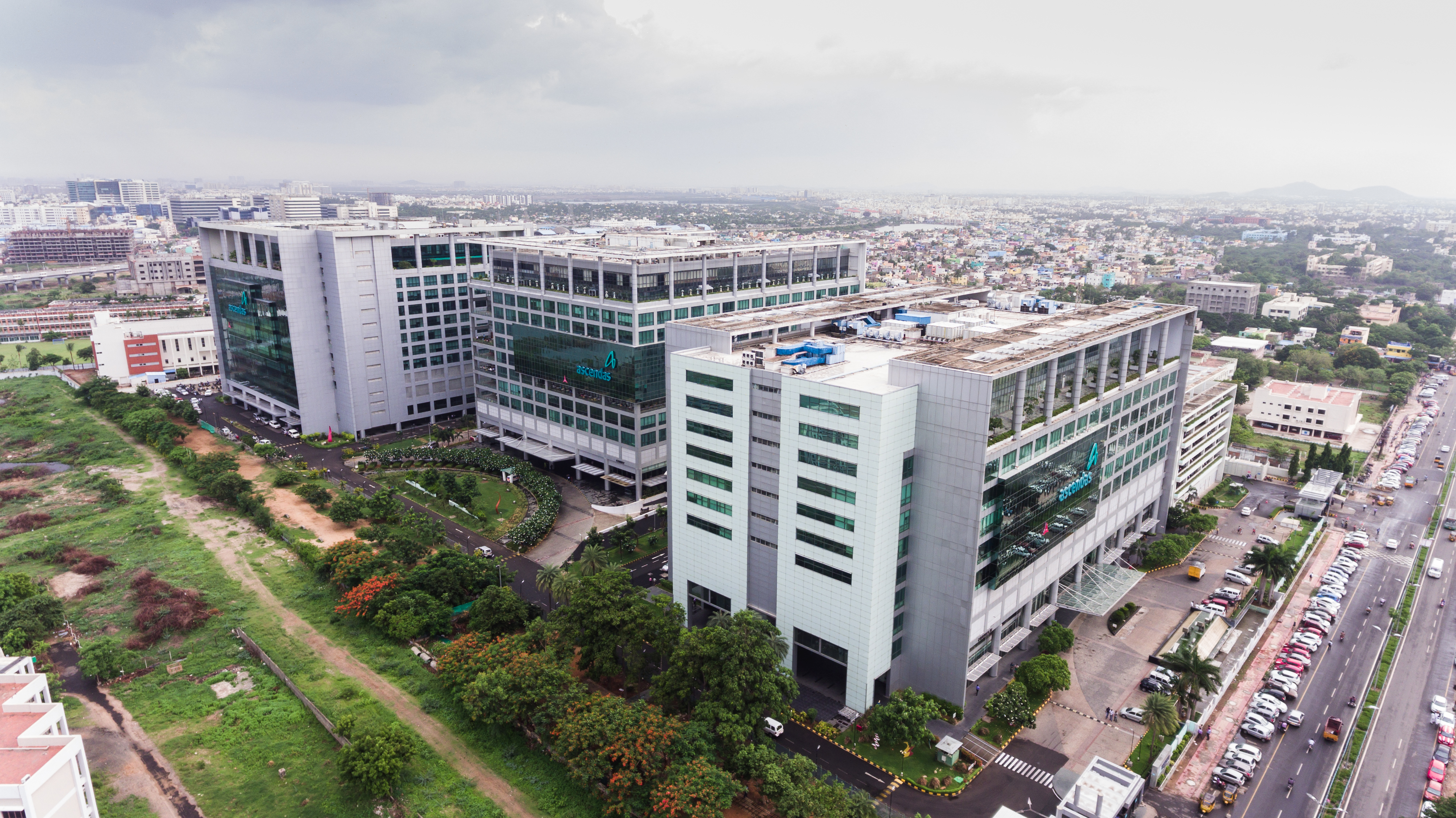 a-iTrust's portfolio comprises seven world-class IT business parks and one logistics park in India.