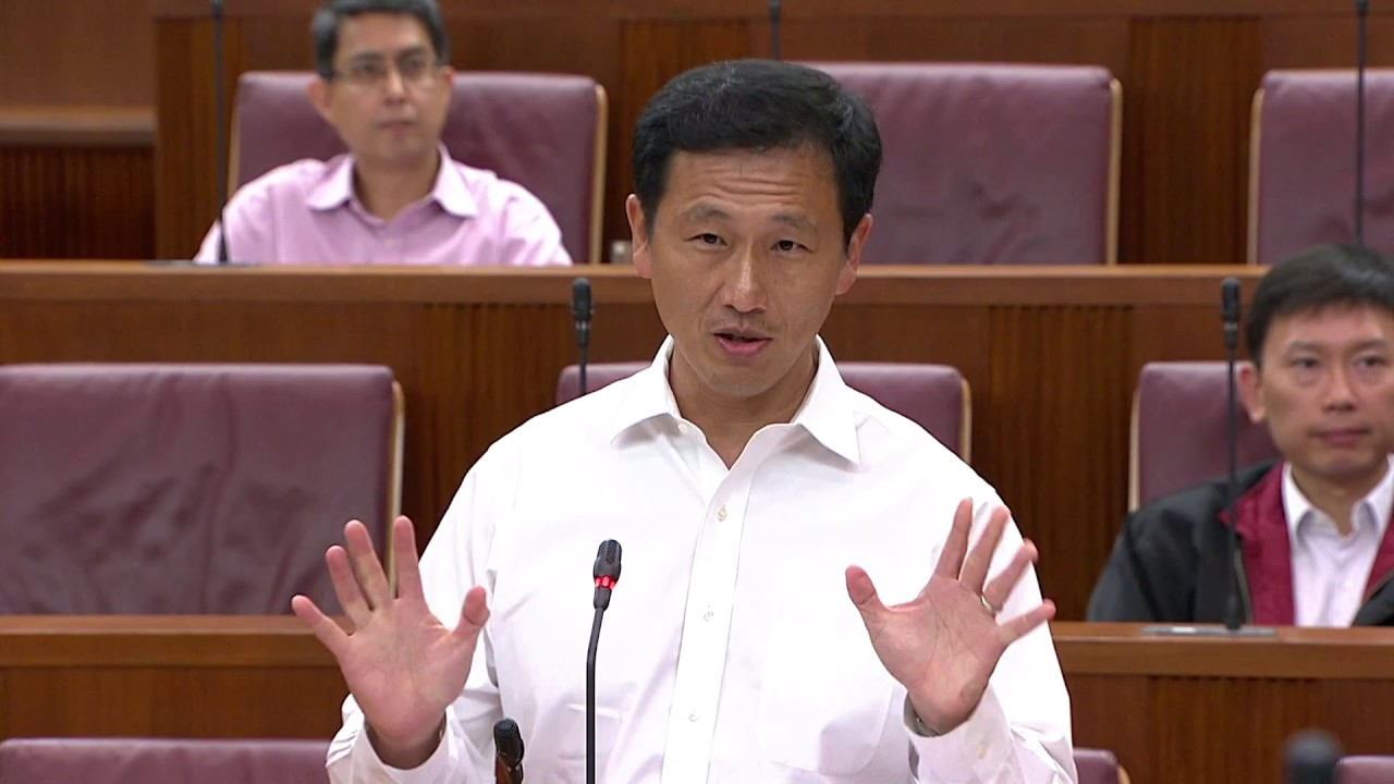 In his speech, Ong highlighted that nothing in the Comprehensive Economic Cooperation Agreement with India implied that Singapore must unconditionally allow professionals, managers and executives from India to enter the country.