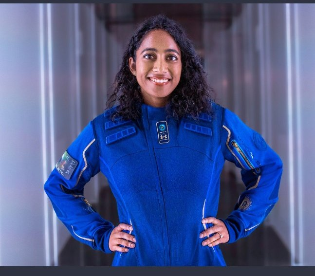 Bandla, who was born in Guntur district in Andhra Pradesh and brought up in Houston, was astronaut No 004 and her flight role was Researcher Experience.