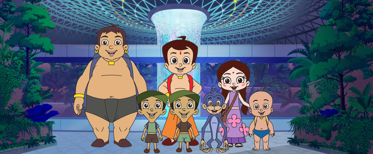 The animated mini-series is uniquely punctuated with the sunshine spirit of locals and Singapore's recognisable landmarks.