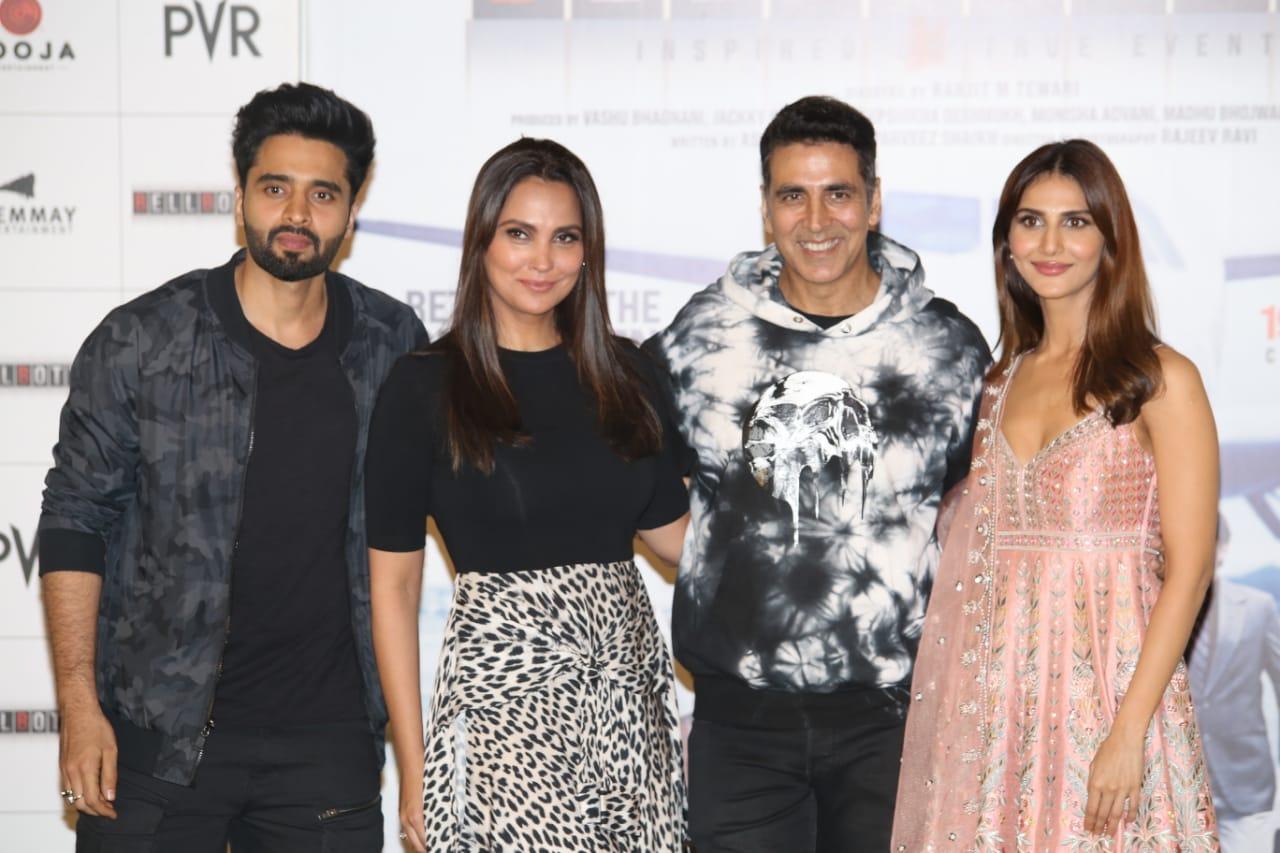 Akshay Kumar, Lara Dutta, Vaani Kapoor and Jackky Bhagnani