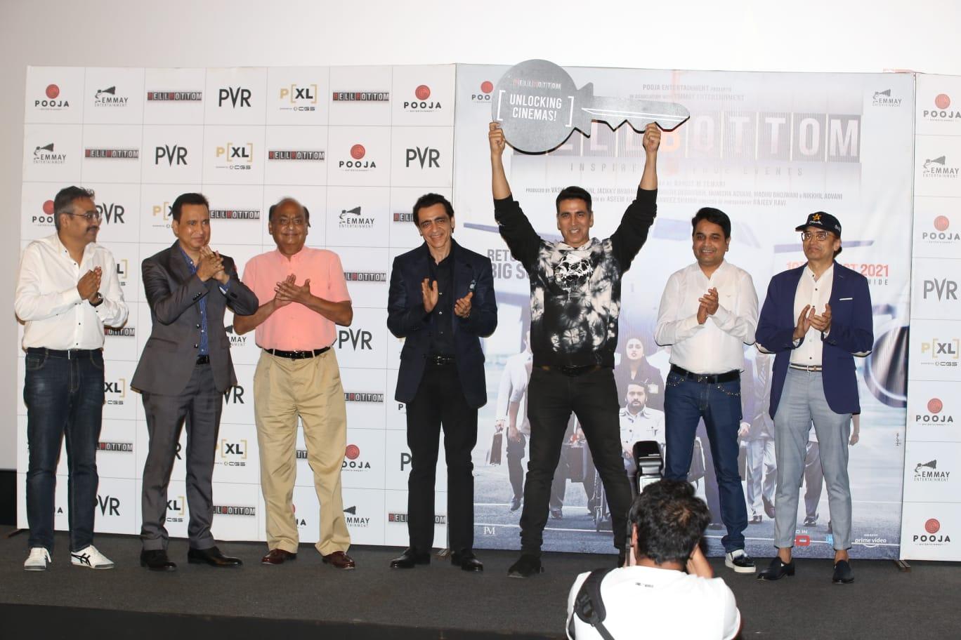Akshay Kumar unlock the cinemas