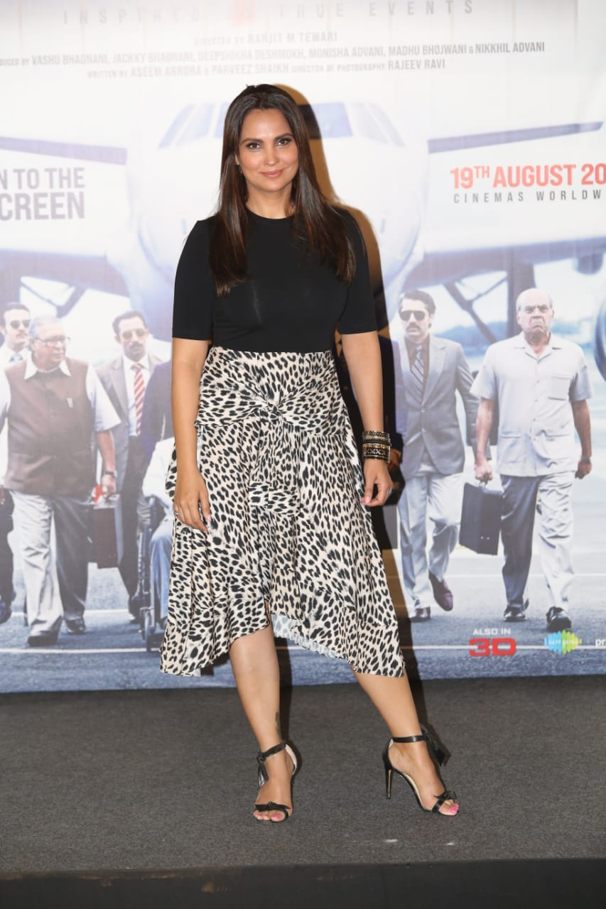 Lara Dutta plays the role of former Indian prime minister Indira Gandhi in Bell Bottom