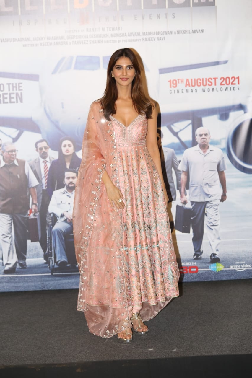 Vaani Kapoor in the movie 'Bell Bottom'.