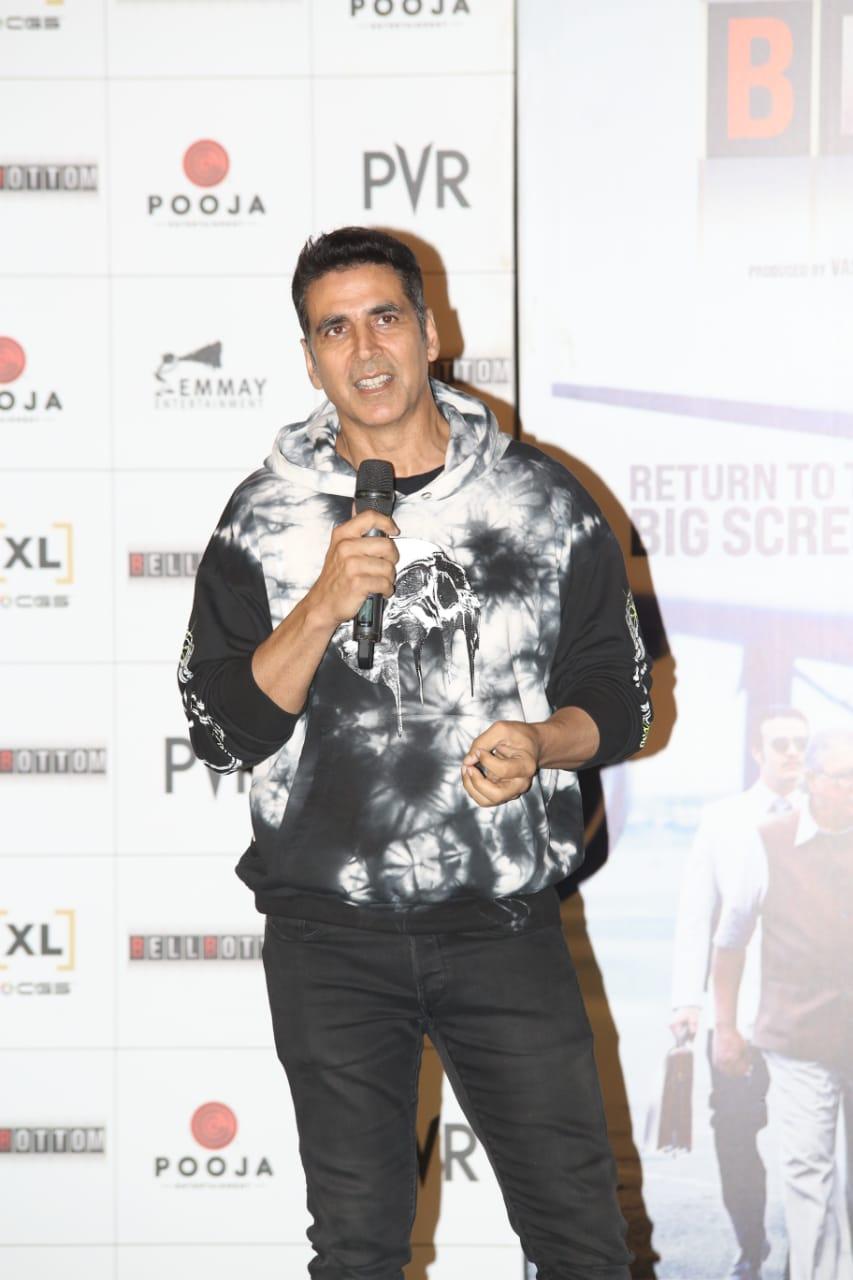 Akshay Kumar role in Bell Bottom
