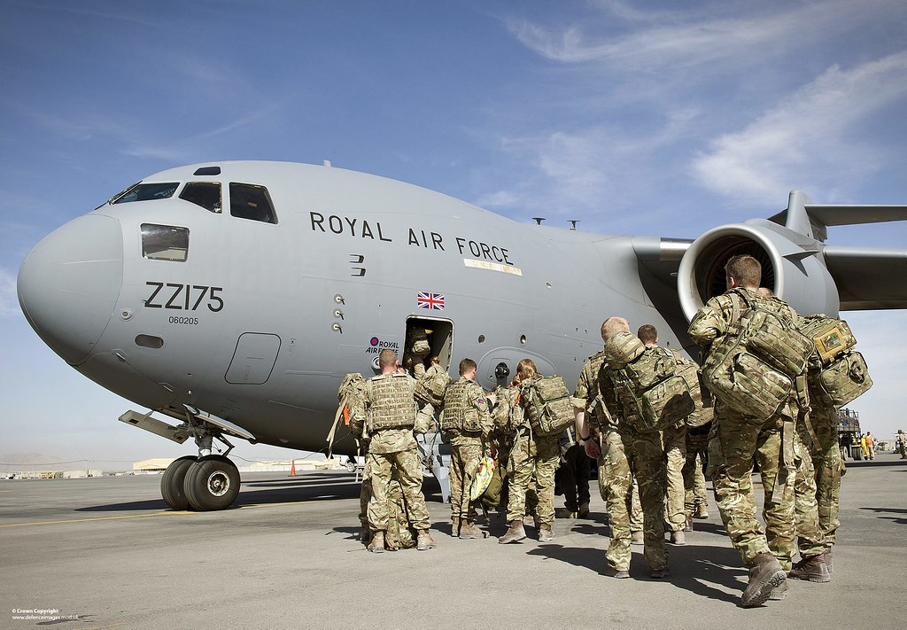 Flights bringing UK citizens and Afghan civilians from the Afghan capital have largely ended