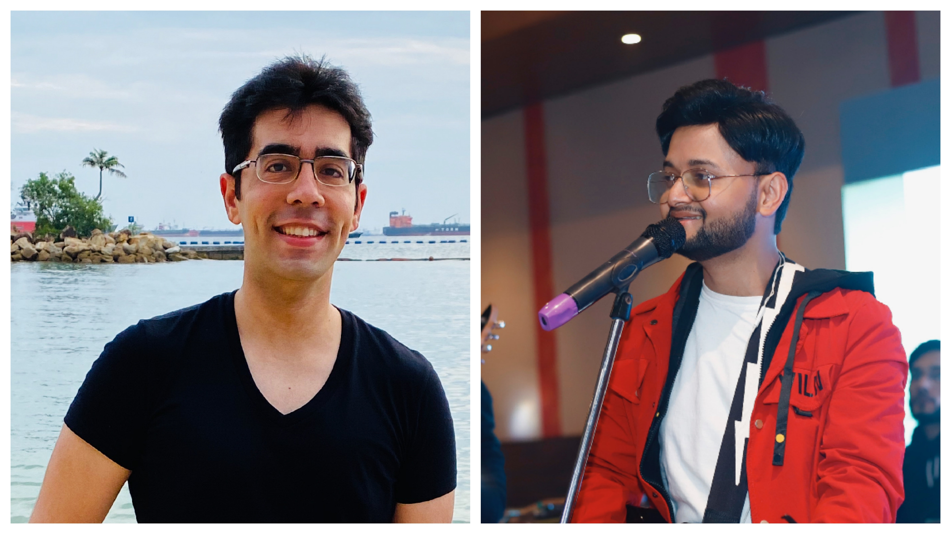 Tanuj and Ajay connected via Instagram created this song over WhatsApp calls and chats.