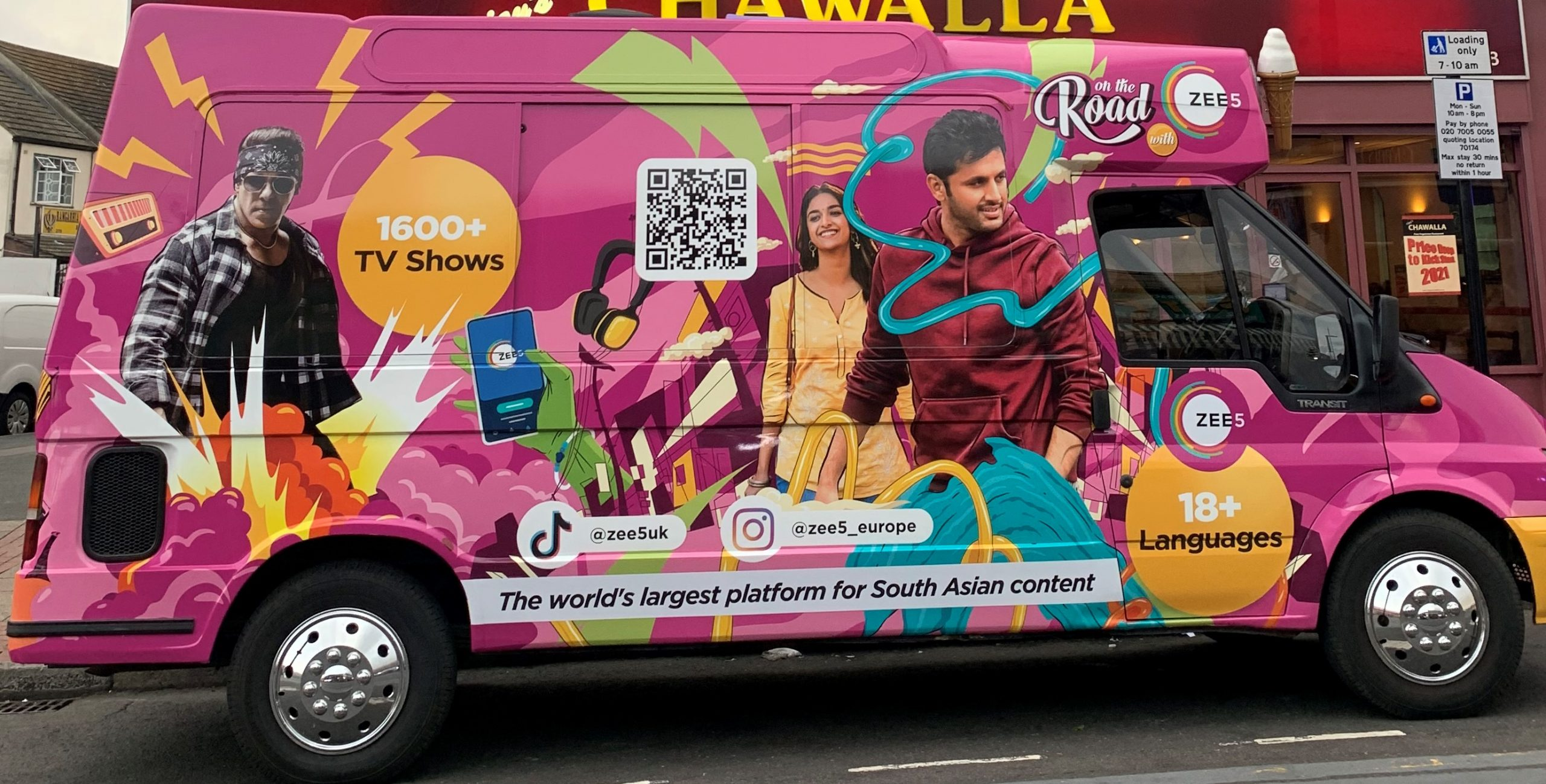 ZEE5 named the ice cream flavours after its content titles. Photo courtesy: ZEE5