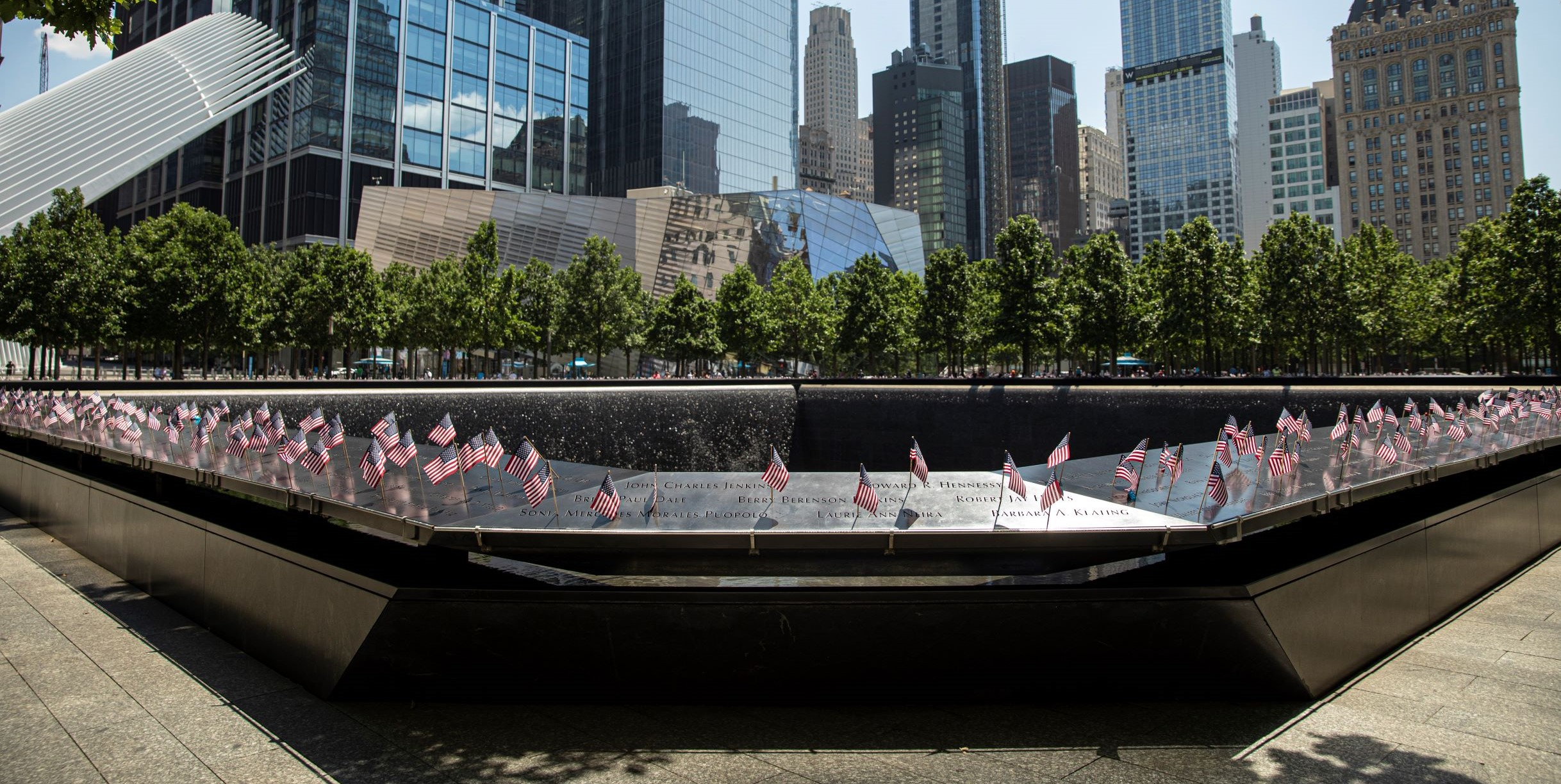 Almost 3,000 people were killed during the 9/11 terrorist attacks