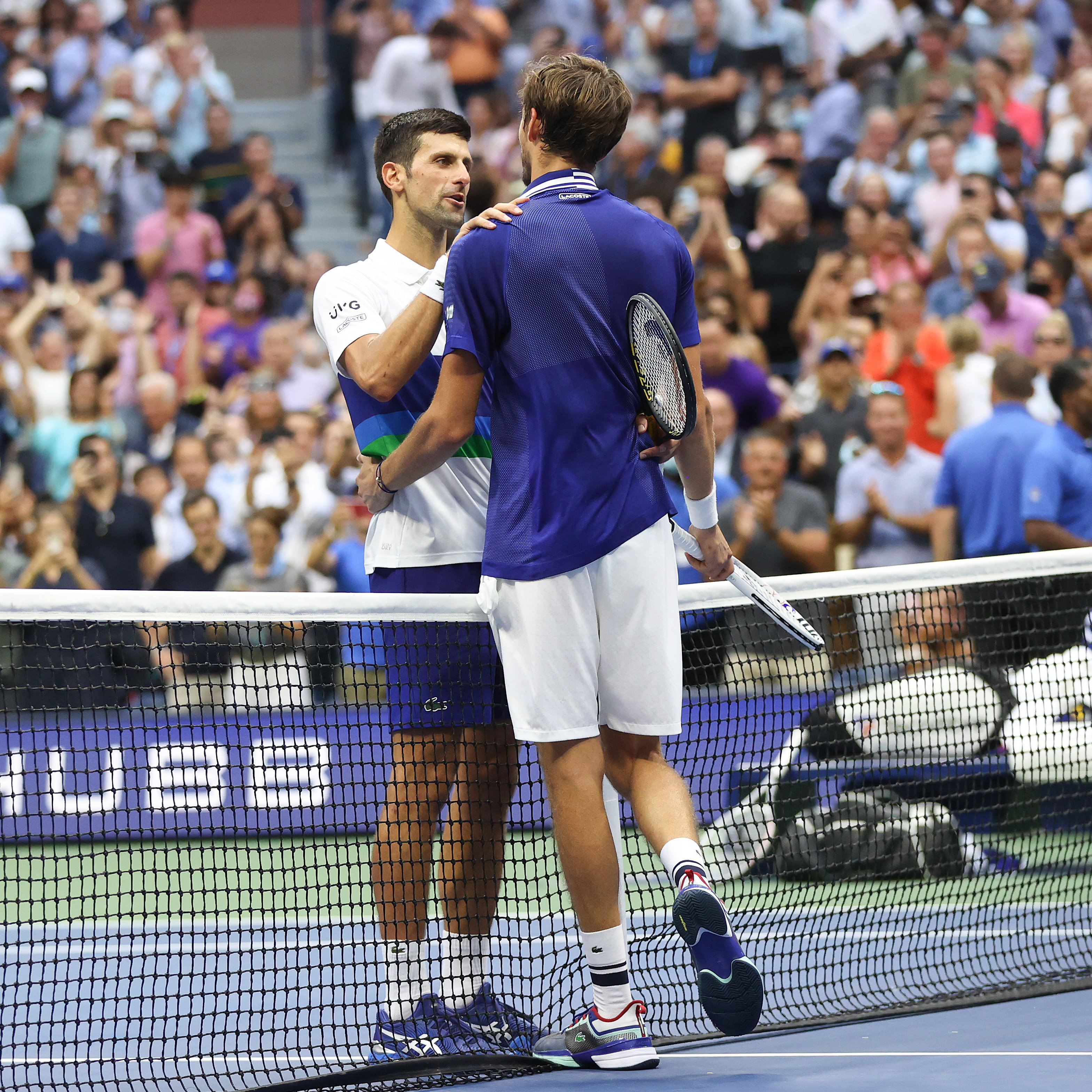 The upset denied Djokovic the chance to become the first man since Rod Laver in 1969 and first tennis player since Steffi Graf in 1988 to complete a calendar slam.