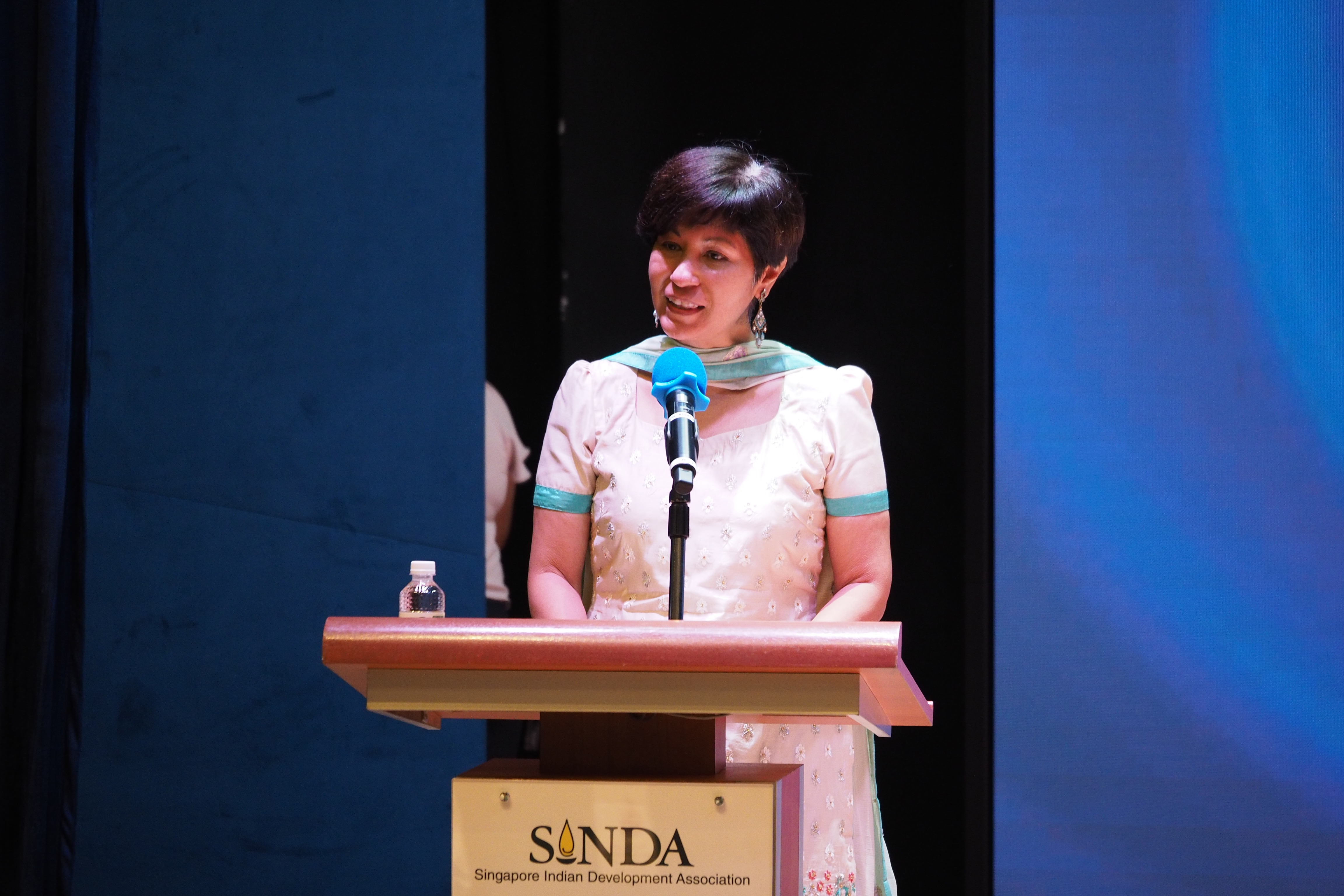 Second Minister for Finance and National Development and SINDA president Indranee Rajah
