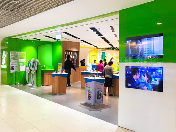 EasyGo is available at all StarHub Shops and will be brought to online shoppers in the next quarter.