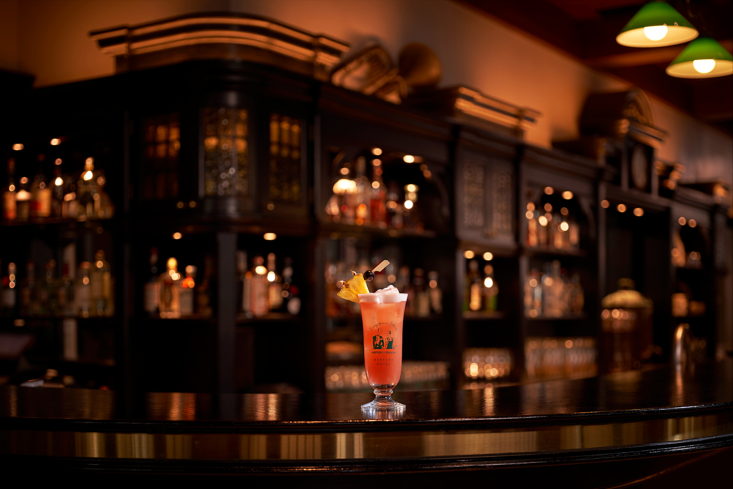 Originally created in 1915 by Ngiam Tong Boon, a Hainanese bartender at Raffles Hotel Singapore, the Singapore Sling cleverly disguised a cocktail as fruit juice.