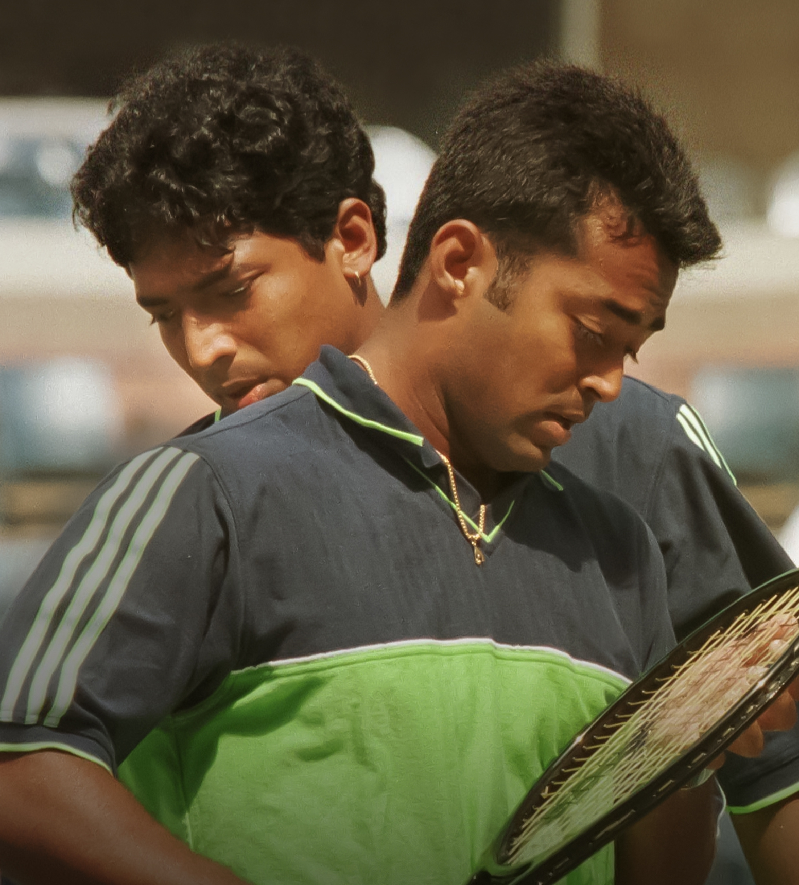 The Tiwaris' showcase the similarities as well as the differences between Leander and Mahesh in a compelling narrative