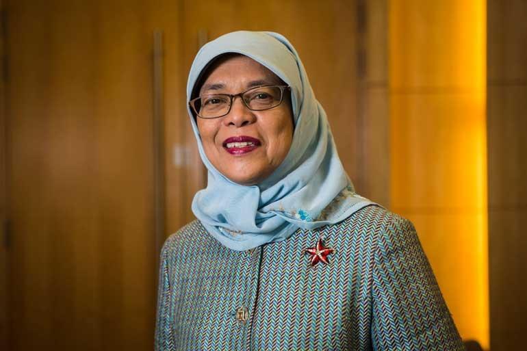 Singapore President Halimah Yacob said
