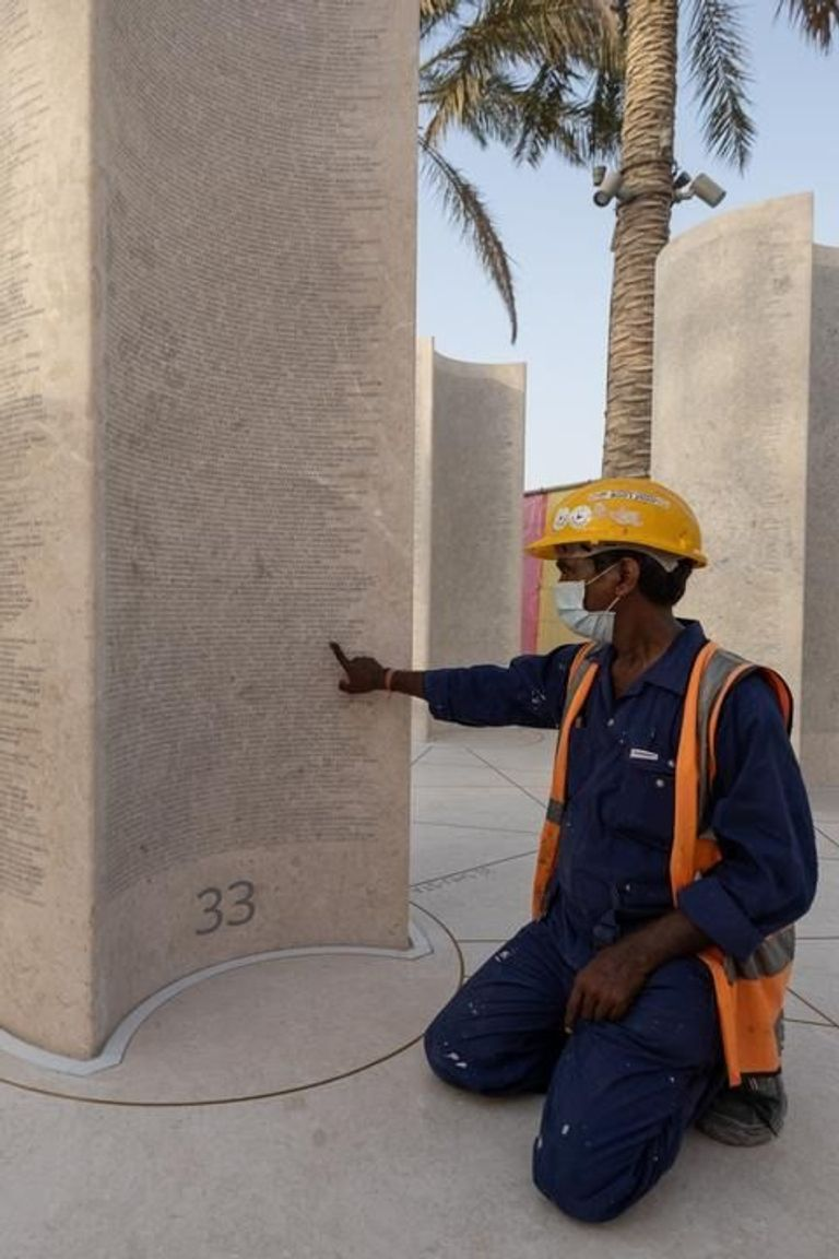 Huge projects in the Gulf region such as the Expo, and Qatar's preparations for hosting the 2022 FIFA soccer World Cup, have faced international scrutiny