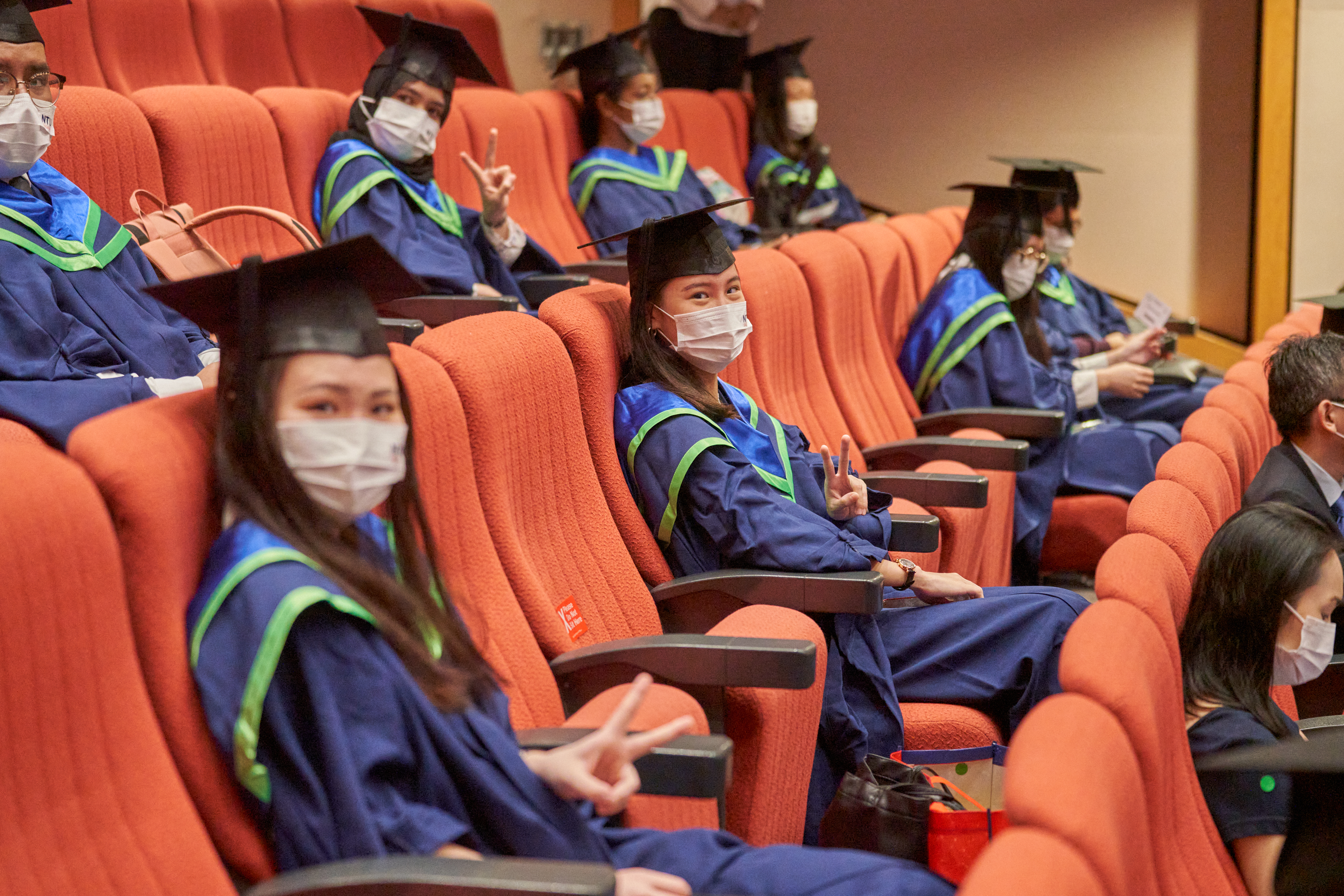 NTU organised more than 80 in-person graduation ceremonies for the Classes of 2020 and 2021 this year