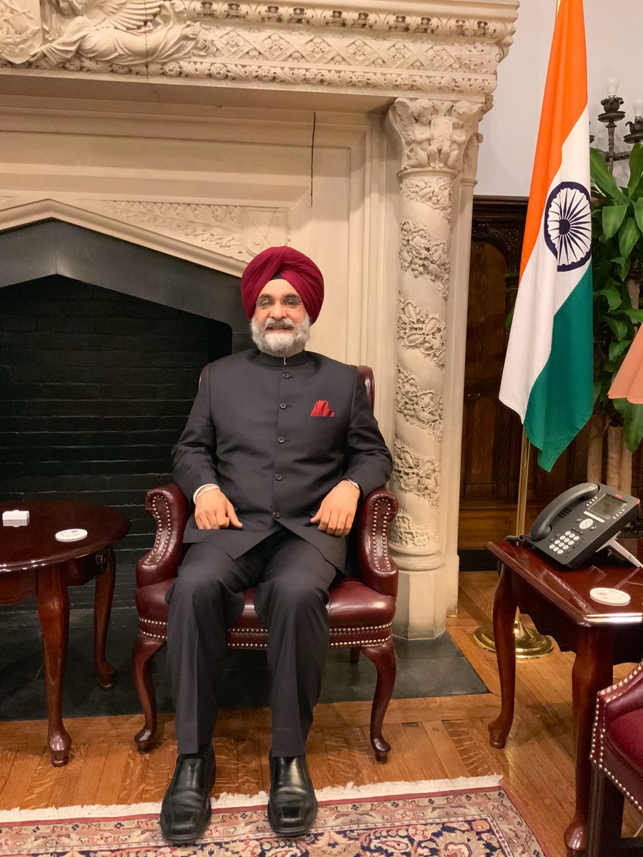 In his address, Sandhu noted that the story of Howard was closely tied to America's history; he recalled how leaders from India and the US influenced the thoughts of each other and the impact it had in shaping the history of both countries.