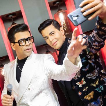 Karan Johar unveils wax figure at Indian cinema experiential space in Sentosa