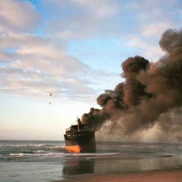 13 Indians rescued from burning cargo ship in UAE