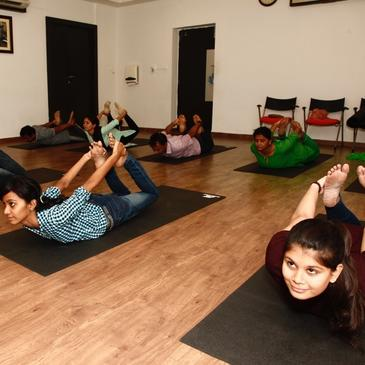 Yoga helping children cope with stress from India's education system