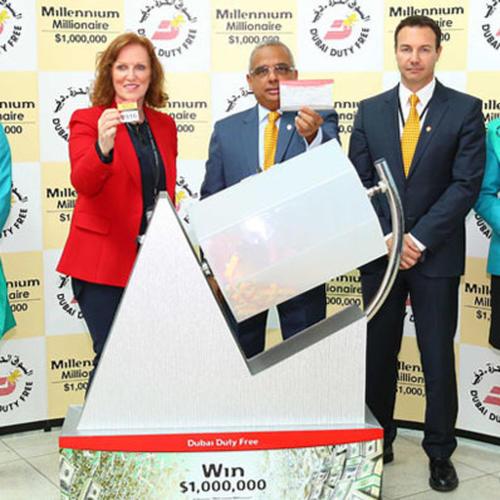 Indian national wins USD1 million in Dubai raffle draw