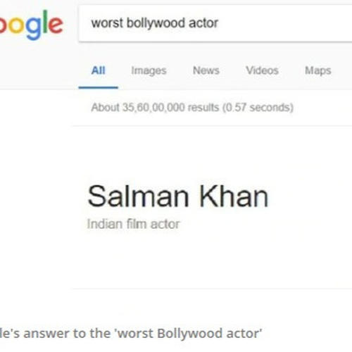 Google search lists Salman Khan as worst Bollywood actor after Race 3