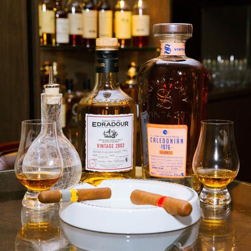 Old-world charm at Tipple and Dram – complete with rare single malts and cigar