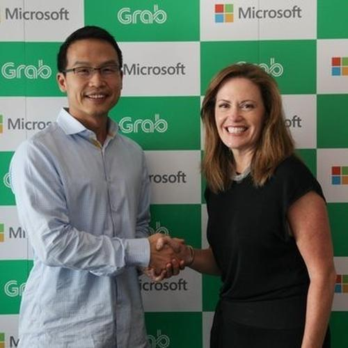 Microsoft invests in Grab with tech-focused partnership
