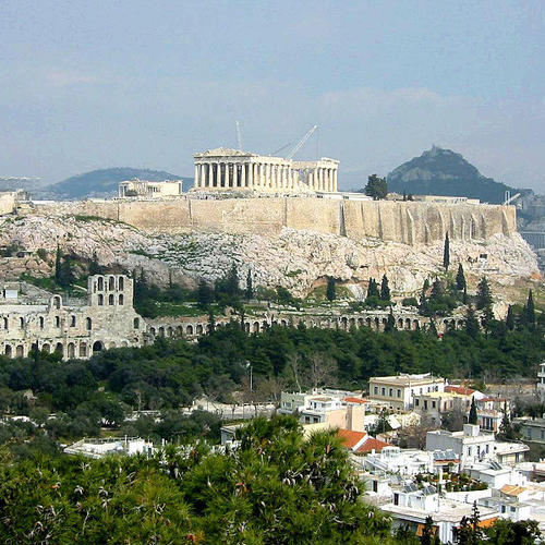 Most romantic places in Athens