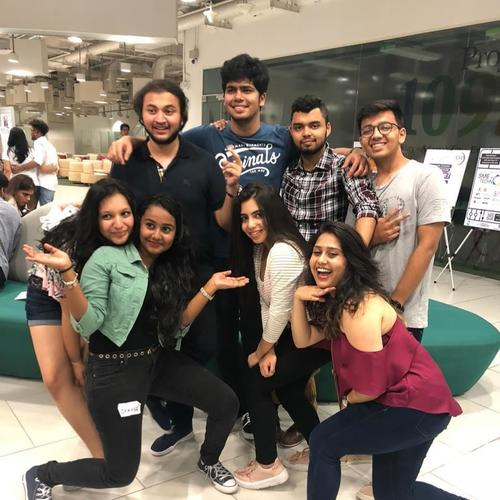 Desi students\' experience of sunny Singapore