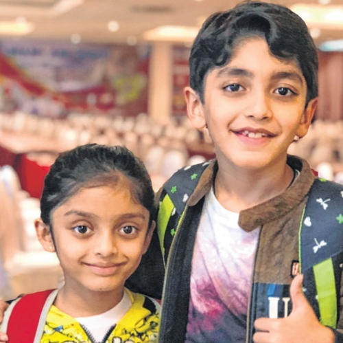 Indian siblings win gold and silver medals in Singapore Chess Championship