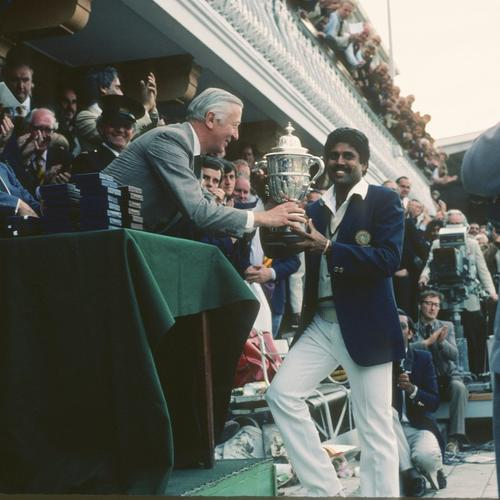Remembering India's 1983 World Cup triumph